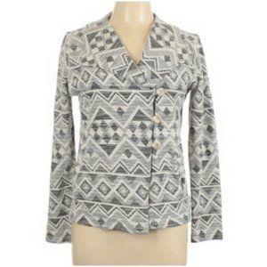 Lucky Brand Boho Southwest Tweed Jacket Size XS